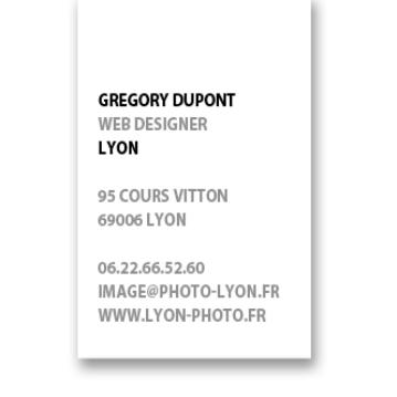 photographe modele carte de visite AV1