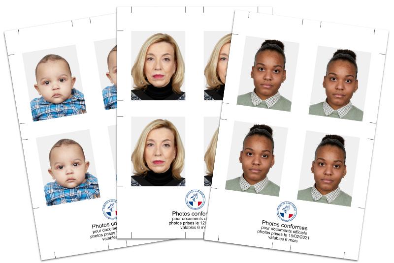 photo identite visa passeport